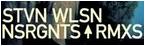 Steven Wilson - 2009年6月発売 リミックス・アルバム 「NSRGNTS RMXS」
